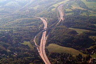 West Autobahn - Steinhäusl junction