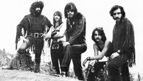 Photo of Steppenwolf band members in 1970