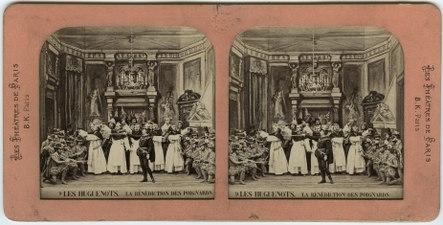Stereokort, Les Huguenots 9, La bénédiction des poignards - SMV - S57a.tif
