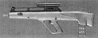 Steyr ACR Type of Bullpup assault rifle/Flechette rifle