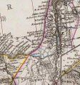 Stieler, Adolf. Das Mittellandische Meer Und Nord-Afrika. 1875 BC.jpg