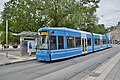 Stockholm Tram Car 3 - left side.JPG