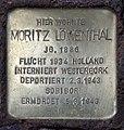 Stolperstein Detmolder Str 4 (Wilmd) Moritz Löwenthal.jpg