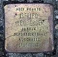 Stolperstein Karl-Marx-Allee 38 (Mitte) Isfried Neuberger.jpg