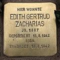 Stolperstein Pariser Str 11 (Wilmd) Edith Gertrud Zacharias.jpg