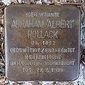 Stolperstein Rüthen Mittlere Straße 7 Albert Pollack.jpg