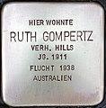 Stolperstein Ruth Gompertz.jpg