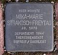 Stolperstein Weimarer Straße 145, Siebleben.JPG