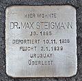 Stolperstein für Dr. Max Steigmann.JPG