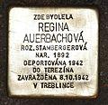 Stolperstein für Regina Auerbachova.JPG