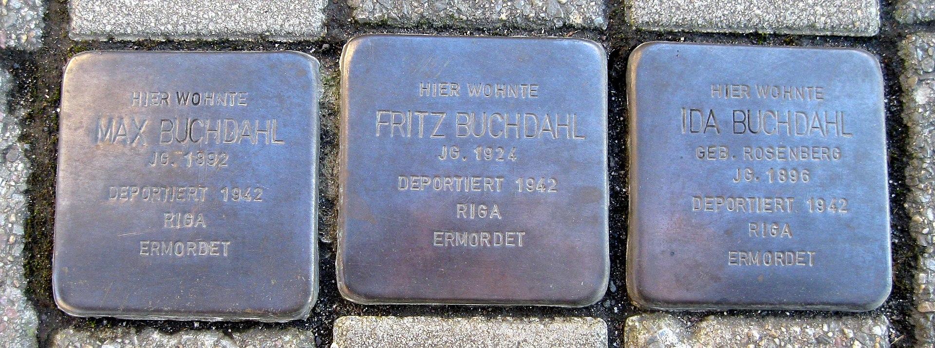 Stolpersteine Dortmund Dorstfelder Hellweg 66.jpg
