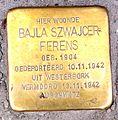 Stolpersteine Gouda Vlamingstraat26a (detail).jpg