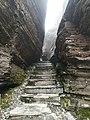 Stone steps, Mount Fanjing, 31 March 2020.jpg