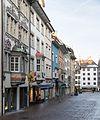 """Strasse """"Oberstadt"""" und Fronwagplatz in Schaffhausen.jpg"""