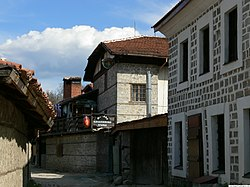 Street with old houses.JPG