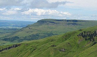 Fintry Hills - Stronend, at the western margin of the Fintry Hills