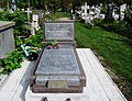 Stryi. Tomb of where was buried Nestor Nyzhankivskyj (1893-1940).jpg