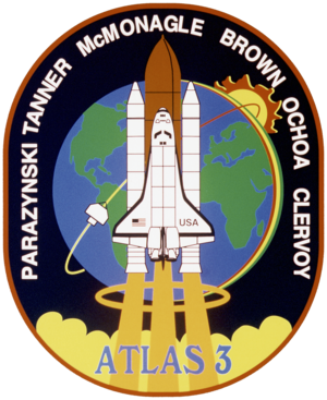 Curtis Brown - Image: Sts 66 patch