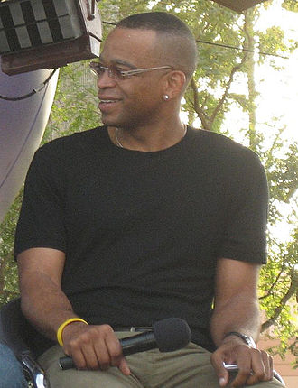 Stuart Scott - Scott at ESPN The Weekend, 2008