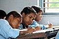 Students study in grade 8 at Shree Dharmasthali Lower Secondary School, Pokhara, Nepal (10727357566).jpg