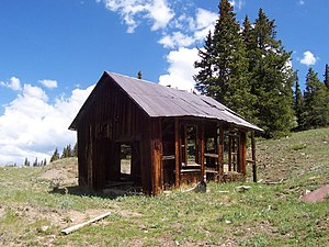 Lake County, Colorado - Image: Stumptown winch House? CO