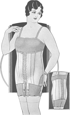 Style9781abdominal corset