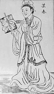 Chinese political strategist in the Warring States period