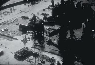 1964 Alaska earthquake - The ruin of Portage