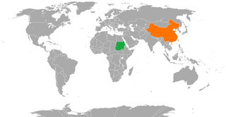 China–Sudan relations Diplomatic relations between the Peoples Republic of China and the Republic of the Sudan