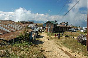 Taplejung Airport - Image: Suketar village