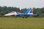 Sukhoi Su-30SM 'RF-81706 - 35 blue' (36767691963).jpg