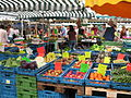 Summer Farmers' Market in the Domplatz.JPG