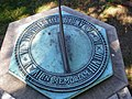 Sundial at Christ Church in VA.JPG