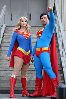 Superman and Supergirl DragonCon 2011.jpg