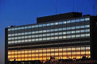 Sûreté du Québec - Upper floors of the SQ headquarters in Montreal.