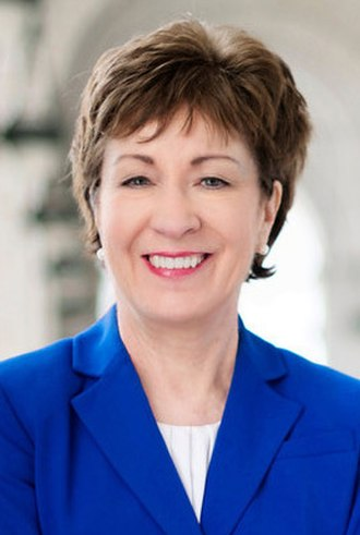 United States congressional delegations from Maine - Senator Susan Collins (R)