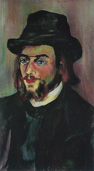 Danses gothiques - Erik Satie, oil portrait by Suzanne Valadon (1893)