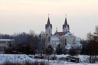 Švenčionys City in Lithuania