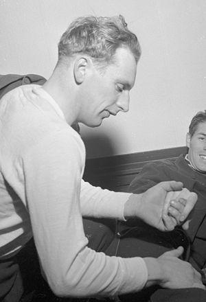 Sverre Ingolf Haugli - Haugli in 1955