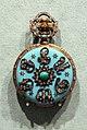 Svizzera, orologio da tasca, 1875-85 ca, oro, smalti, turchesi e diamanti.jpg