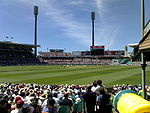 Sydney Cricket Ground, Warne final balls, 2007.jpg