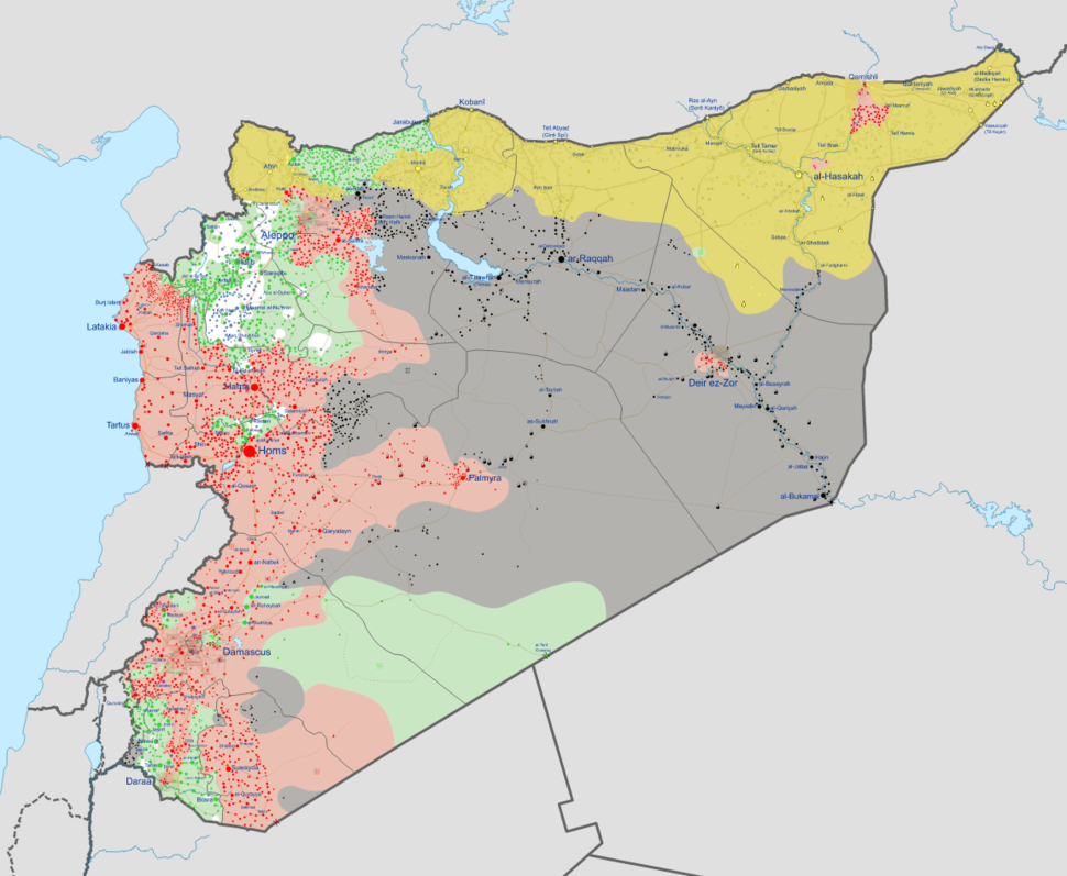 Syrian civil war 01 12 2016