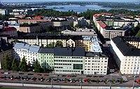 Töölö, Helsinki from the olympic stadium tower.jpg