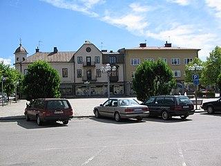 Töreboda Place in Västergötland, Sweden