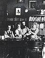 THEODOR HERZL WITH HIS CHILDREN IN HIS VIENNA STUDY. תאודור הרצל עם ילדיו בחדר העבודה בווינה - שנת 1897..jpg