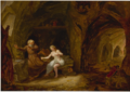 THE TEMPTATION OF ST. ANTHONY IN A ROCKY CAVERN.png