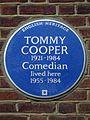 TOMMY COOPER 1921-1984 Comedian lived here 1955-1984.jpg