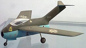 Focke-Wulf Ta 183 - A Model of Focke-Wulf Ta 183 Design II
