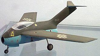 Focke-Wulf Ta 183 - A Model of Focke-Wulf Ta 183 Design II