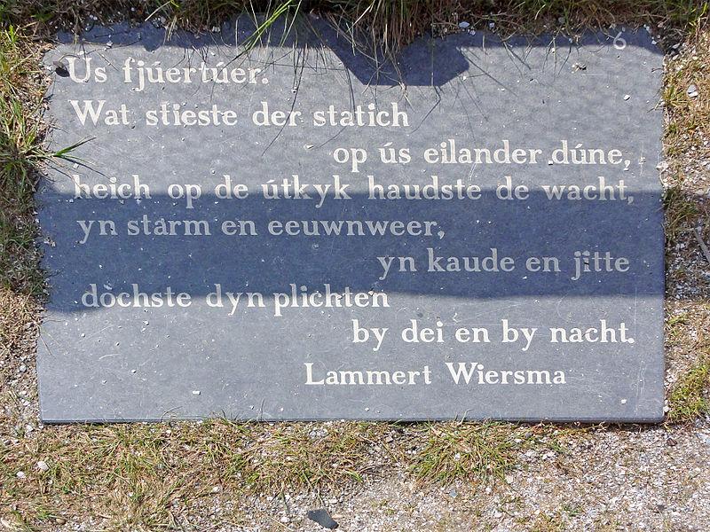 File:Taalroute Schiermonnikoog vuurtoren.jpg